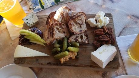 Cheese board at Palace Cafe