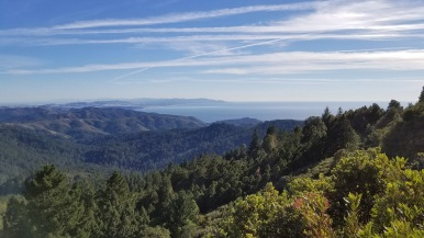 Mount Tamalpais ocean views