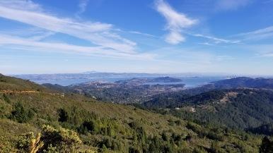 Mount Tamalpais city views