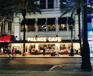 Travel or Else Palace Cafe NOLA