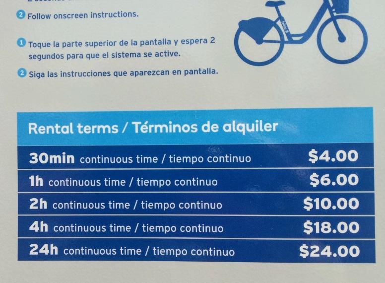 Citi Bike Pricing Miami