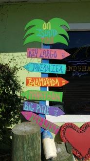Key Largo Sign