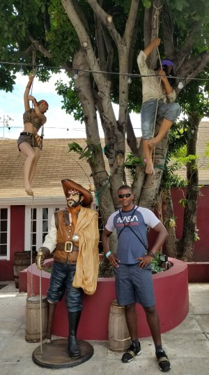 Byron at Pirates of Nassau Museum