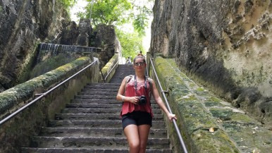 Climbing the Queens Staircase