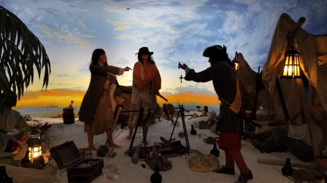 Pirates of Nassau Museum Beach